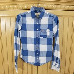 Hollister Button Down, sz XS
